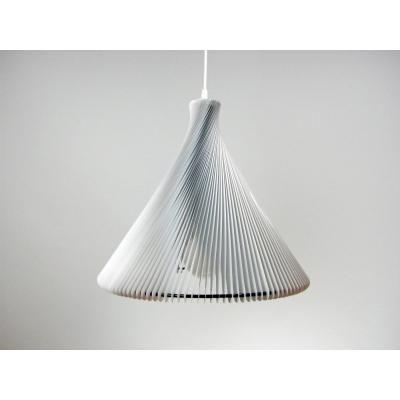 Exkluzív függesztett mennyezeti lámpa, fehér  - RONDO